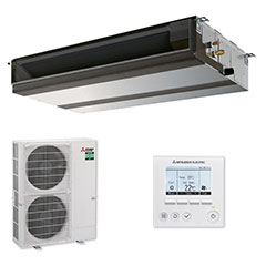 Mitsubishi Ducted System PEAD-M125JAA installed from $11,999 inc gst